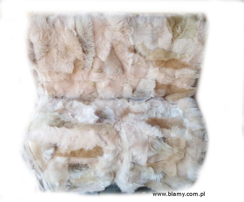 f8292704d Błamy ze skór owczych, baranich, narzuty, szyte i tkane